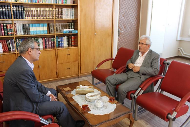 دیدار دکتر نجفی شهردار تبریز با مدیرکل ثبت احوال استان