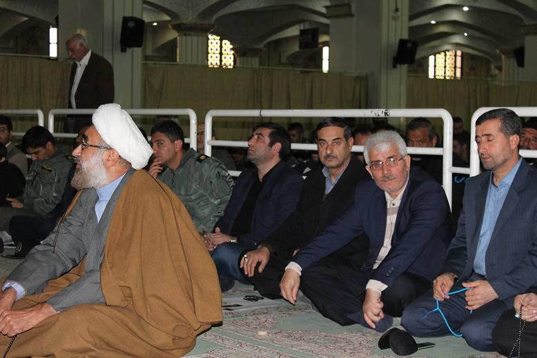 سخنرانی مدیر کل ثبت احوال استان در نماز جمعه تبریز