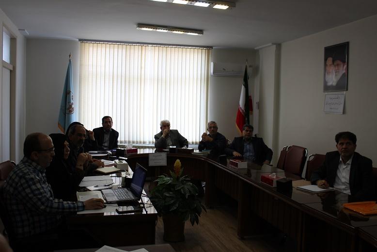 جلسه کارگروه توسعه مدیریت